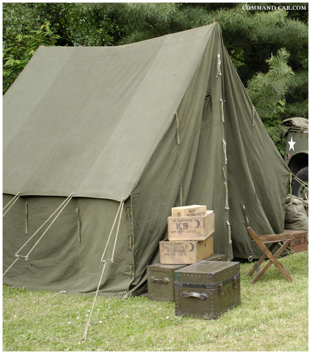 Original vintage US small wall tent WW2. & Tent GPsmall General Purpose Hexxi Small Wall Pup tent ...