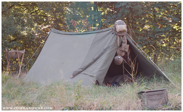 Tent GPsmall General Purpose Hexxi Small Wall Pup tent shelter half DODGE WC 54 Ambulance WC 56 Command Cars US Army 2WK WW2 & Tent GPsmall General Purpose Hexxi Small Wall Pup tent ...